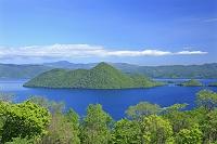 北海道 サイロ展望台付近より洞爺湖