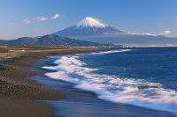 静岡県 三保の松原より富士山