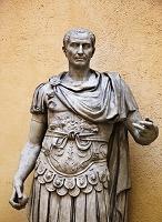 イタリア 古代ローマ博物館のカエサル像