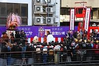大阪府 宝恵駕行列の出発式