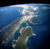 地球 日本列島