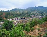 中国 洪杭村・永定土楼(振成楼)