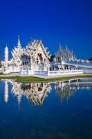 タイ チェンライ ワット・ロンクン(白い寺院)