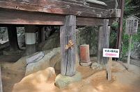 滋賀県 大津市 石山寺 安産の腰掛石