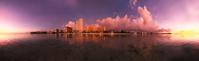 グアム タモンビーチの夕景