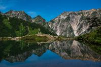 八方池と白馬連山 デイライト 白馬 長野県