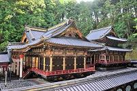 栃木県 日光市 大猷院廟 拝殿と本殿