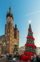 ポーランド クラクフ クリスマスマーケット