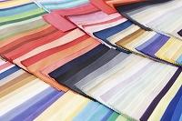 カラーコーディネートの布