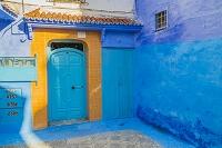 モロッコ シャウエン ドア
