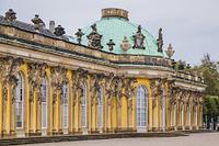 ドイツ ポツダム サンスーシー宮殿