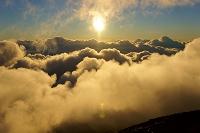 山梨県/静岡県 富士山でのご来光と雲海