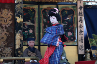 滋賀県 長浜 曳山祭り 子ども狂言