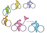 針金アート サイクリング