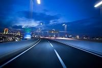 東京都 夜の首都高を走る