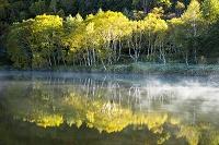 長野県 黄葉と木戸池