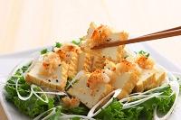 厚揚げ豆腐サラダ