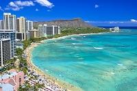 ハワイ ワイキキビーチとダイヤモンドヘッド