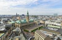 ドイツ ハンブルク  市庁舎広場