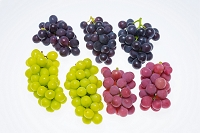 果物 3種のブドウ