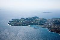 福江島(牛成ノ鼻と箕岳 白岳より黒島)