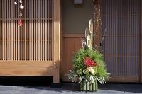 京都府 お正月の門松