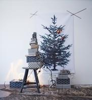 インテリア クリスマスツリーの壁かけ