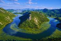 モンテネグロ スクータリ湖