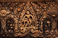 カンボジア アンコール遺跡 バンテアイ・スレイ寺院