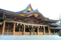 神奈川県 寒川神社 拝殿