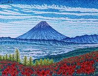 レンゲツツジと富士