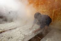 新潟県 金鵄盃 越後杜氏 大吟醸仕込み 蒸米 冷やし