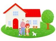 家族と一軒家