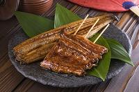 鰻の蒲焼と長焼き
