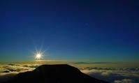 ハレアカラ山の山頂