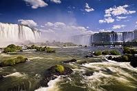 アルゼンチン・ブラジル国境 イグアスの滝