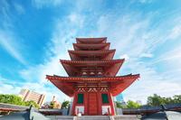 大阪府 四天王寺 五重塔(六道利救の塔)