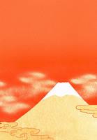 富士山 赤バック