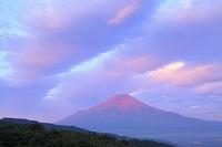 山梨県 二十曲峠 夜明け富士