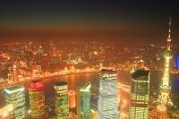 上海 ビル群