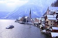 オーストリア ザルツカンマーグート ハルシュタット湖