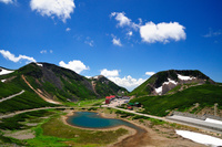 乗鞍岳・大黒岳から俯瞰する畳平