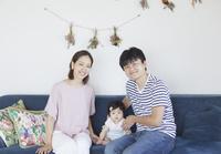 日本人家族写真