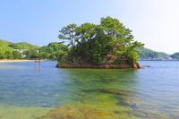 福岡県 夢の小夜島 (満潮)