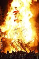 長野県 道祖神祭り