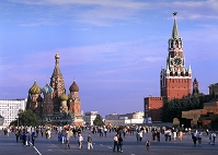 モスクワ 赤の広場