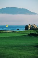 ペブルビーチ・ゴルフリンクス 17番ホール、177ヤード、パー3