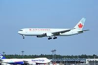 千葉県 ジェット旅客機 カナダ航空 B767