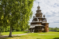 ロシア スズダリ 木造建築博物館