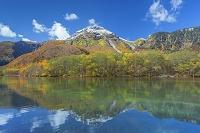 長野県 大正池と焼岳